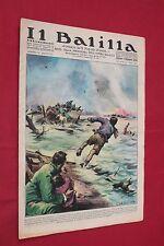 rivista a fumetti IL BALILLA Supplemento Popolo d'Italia ANNO XV N.16 (1937)