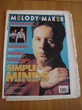 MELODY MAKER 1989 JULY 22 SIMPLE MINDS PET SHOP BOYS POGUES CURE LENNY HENRY