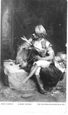REAL PHOTO POSTCARD A BASHI BAZOUK BY CHARLES BARGUE METROPOLITIAN MUSEUM OF ART