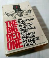 THE BIG RED ONE - by Samuel Fuller, 1st EDITION,  paperback, GOOD to VERY GOOD