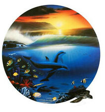 """WYLAND  """"DOLPHIN DAYS""""  S/N LITHOGRAPH WITH COA"""