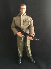 "WWII American Thompson GI JOE by Hasbro 12"" Inch 1:6 Scale Action Figure World"
