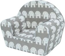 Musehouse Childrens Chair Armchair Seat Stool Kids Toddlers 0-4yo ELEPHANT