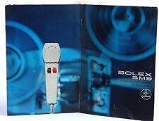 Bolex SM8 Sound Projector Brochure / Booklet - 5 pages