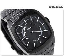 DIESEL MEN'S BRAVE 3D FACE LUXURY DRESS STYLE BLACK WATCH DZ1586