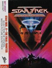 Jerry Goldsmith Star Trek V The Final Frontier CASSETTE ALBUM Soundtrack Canada