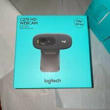BRAND NEW Logitech C270 HD Webcam 720p Widescreen VideoCalling FAST SAMEDAY SHIP