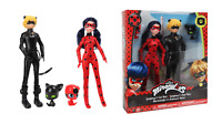 Miraculous Ladybug & Cat Noir Fashion Doll 10.5in 25cm & Tikki and Plagg Bandai