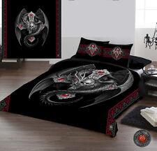 Gotico Dragon-Set copripiumino per UK KING / USA Queensize letto dall' onorevole Anne Stokes