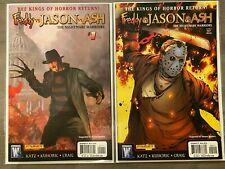 Freddy Vs Jason Vs Ash The Nightmare Warriors #1 & 2 Wildstorm Comics High Grade
