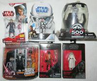 "6 Star Wars Anakin Skywalker Kenobi 500th Vader 3.75"" The Clone Wars Action FIgs"