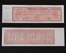 RIPROD. 10.000 LIRE TITOLO PROVVISORIO TESTINA LUOGOTENENZA FDS 10000 ITALY LIRA
