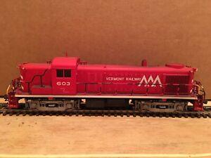 HO Kato Custom Vermont Railway RS-3 Powered Diesel Locomotive VTR #603 DCC ONLY