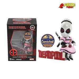 Beast Kingdom Mini Egg Attack MEA-004 Deadpool Servant Pink HCF Exclusive Figure
