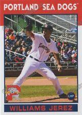 2016 Portland Sea Dogs Williams Jerez RC Rookie Boston Red Sox