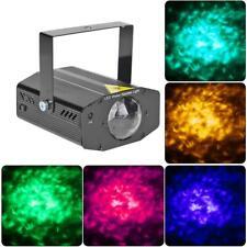 RGB LED Bühnenlicht Wasserwellen Mini DJ Disco Laserprojektor Beleuchtung IP44
