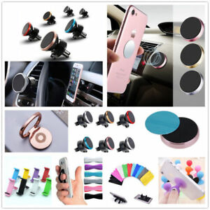 1x Universal Phone Holder Expanding Stand Hand Grip Mount For iPhone Samsung