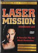 Laser Mission by Brandon Lee (Dvd, 1990) Brand New Sealed!