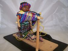 Guatemala cloth doll Figures in Traditional Costume ca 19-20th c.newark museum