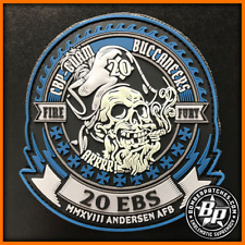 20th EXPEDITIONARY BOMB SQUADRON 2018 DEPLOYMENT PATCH, B-52H, ANDERSEN AFB GUAM