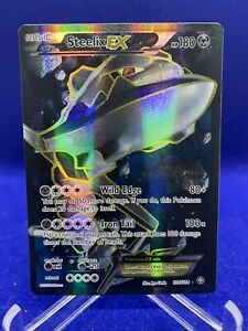 2016 Steelix Full Art Holo Foil Ultra Rare Steam Siege Pokemon Card Mint 108/114