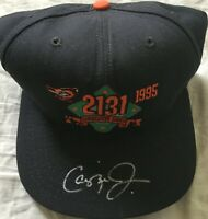 Cal Ripken autographed signed Baltimore Orioles Consecutive Game 2131 cap or hat