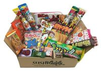 Japanese Candy gift box 20 pcs SURPRISE set Japanese food sweets St Valentine