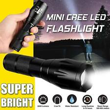 5 model Torch 8000LM Super Bright Camping Police Flashlight Hunt Torch  T6 LED