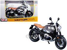 BMW R NINET SCRAMBLER METALLIC GRAY 1/12 MOTORCYCLE MODEL BY MAISTO 18834