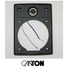 CANTON Plus MX dome tweeter, fixed to the faceplate—made c.2003, excellent cond.