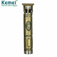 Kemei 1974a Metal Pro T-OUTLINER Cordless Trimmer Wireles Portable Hair Clipper