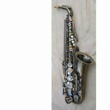 Advanced antique Alto Saxophone Nice carved pattern  #2679