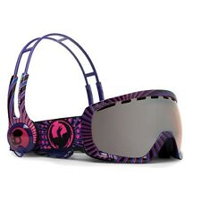 Dragon Goggles Rogue-i Skull Candy Purple - Ionised Lens Medium Fit 722-2132