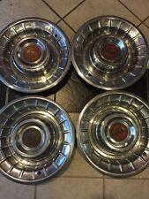 "4-1956 Cadillac Deville Wheel Cover Hubcap  15"" Vintage Deep Dish"