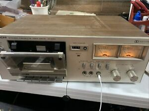 Vintage Hitachi D-230 Cassette Deck Tested! Nice!