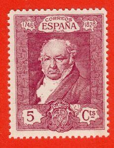 ESPAÑA 1930 EDIFIL 502** RETRATO DE FRANCISCO DE GOYA POR VICENTE LÓPEZ