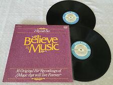 BELIEVE IN MUSIC JOHNNY O'KEEFE BOBBY DARIN DUSTY SPRINGFIELD EVERLY BROS 2xLP