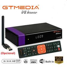 Receptor de satélite Gtmedia V8 Honor DVB-S2 HDTV WIFI o V8 Remote o Antena Wifi