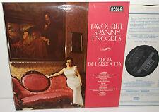 SXL 6734 Albeniz Granados Turina Favourite Spanish Encores Alicia De Larrocha
