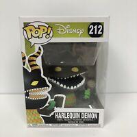 Disney Harlequin Demon Pop Vinyl 212 Nightmare Before Christmas