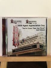 Brand New ~ 2009 Agent Appreciation Day Solid Source Reality Joel Osteen (CD, 20