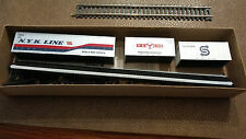 Ho scale Athearn southern Pacific 86 ft Container flat with Ys Line sea train N
