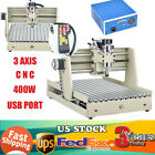 USB 3 AXIS 400W CNC 3040 Router Engraver Wood Drill/Milling Machine & Handwheel