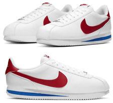 Новые Nike Cortez ретро классический сборная США мужские повседневные кроссовки белые все размеры