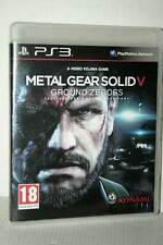 METAL GEAR SOLID V GROUND ZEROES USATO SONY PS3 EDIZIONE ITALIANA PAL DD1 49504