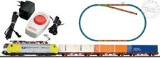 PIKO 97916 start set train goods with container and circuit tracks - 1/87