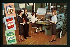 Advertising postcard Whitaker Park RJ Reynolds Tobacco Co. Winston Salem NC