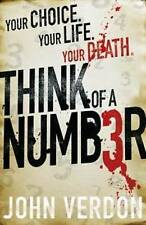 Think of a Number by John Verdon - Large Paperback -  20% Bulk Book Discount
