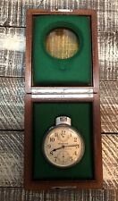 WWII 1942 Hamilton Bureau Of Ships U.S. Navy Chronometer Watch Model 22