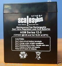 12V 5AH 20HR Rechargeable Valve Regulated Sealed Lead Acid Battery VRLA SLA AGM